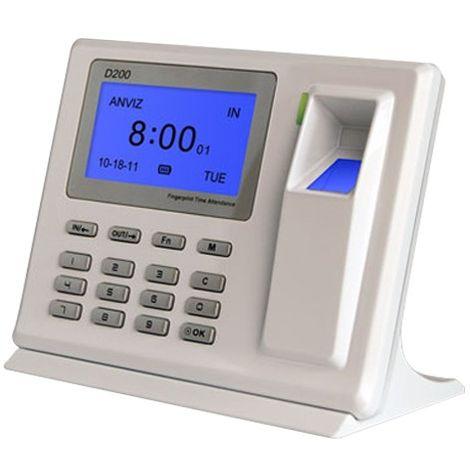 Terminal de Control de Presencia Huella dactilar y teclado ref: D200