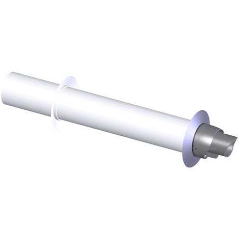 Terminal horizontal alu/galva O60/100 (HR)