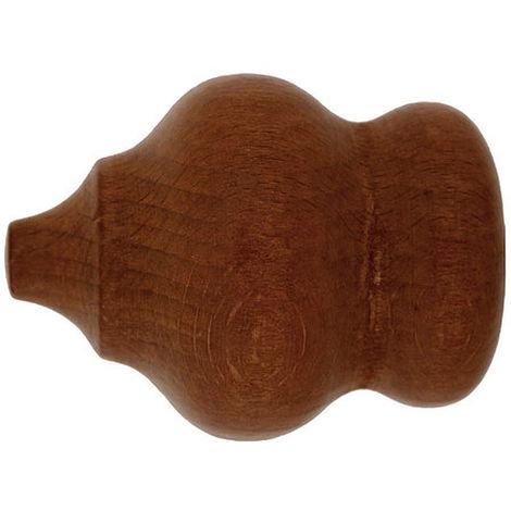 terminal madera marbella 28x70 mm. nogal