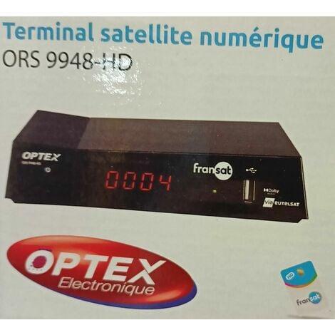 TERMINAL SATELLITE NUMÉRIQUE FRANSAT ORS 9948-HD (AVEC CARTE)