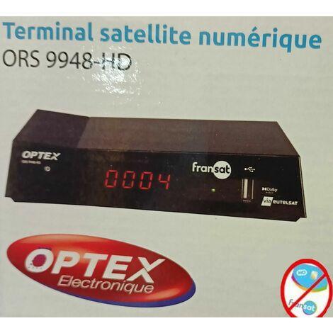 TERMINAL SATELLITE NUMÉRIQUE FRANSAT ORS 9948-HD (SANS CARTE)