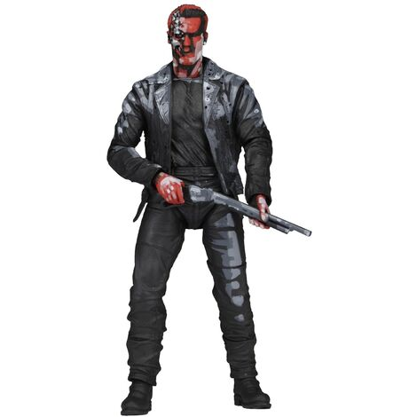 Terminator 2 T -800 Action Figure (One Size) (Black/Grey)