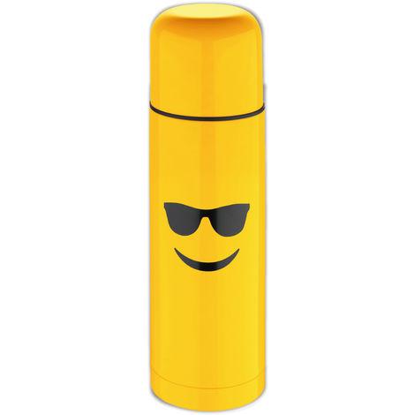 Termo Amarillo 28,5 cm (750ml) en acero inoxidable, Gafas de sol - Emoticonworld