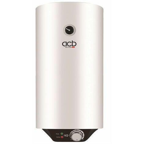 Termo Calentador Acumulador de agua eléctrico ACB vertical 50 Litros