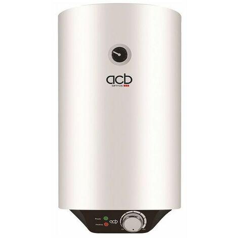 Termo Calentador Acumulador de agua eléctrico ACB vertical 80 Litros