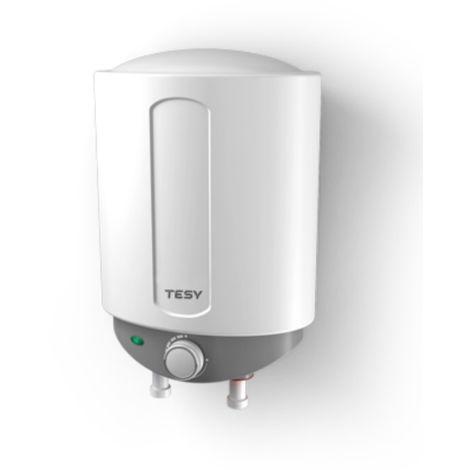 Termo de Agua Eléctrico COMPACT de 6 Litros Con Tomas Inferiores (Arriba de la Pila) y Alta Eficiencia Energética - Tesy