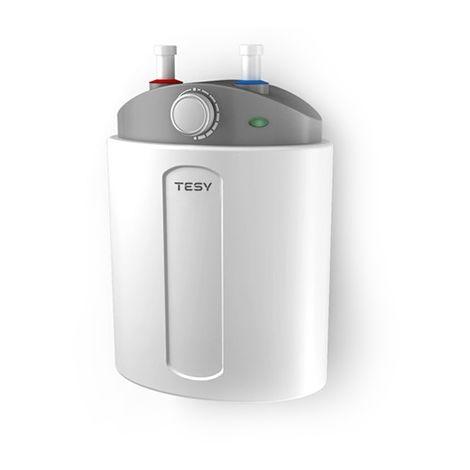 Termo de Agua Eléctrico COMPACT de 6 Litros Con Tomas Superiores (Debajo de la Pila) y Alta Eficiencia Energética - Tesy