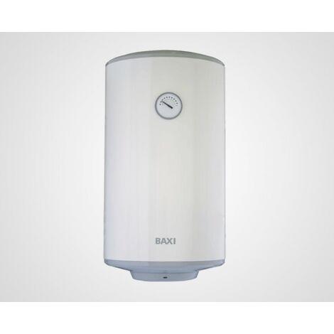 Termo eléctrico Baxi 100 l. horizontal H510 Serie 5