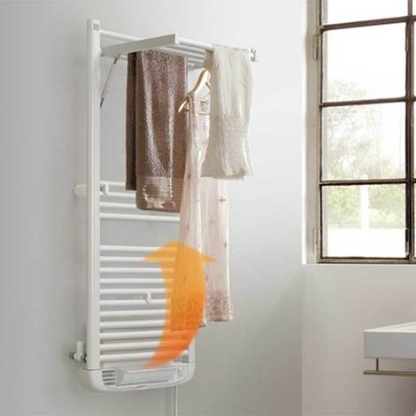 Termoarredo caldobagno elettrico Deltacalor Dryer Electric Plus 1196x500