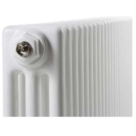 Termoarredo multicolonna in acciaio h3000 mm bianco interasse 2930 mm modello multy 3 - linea casa