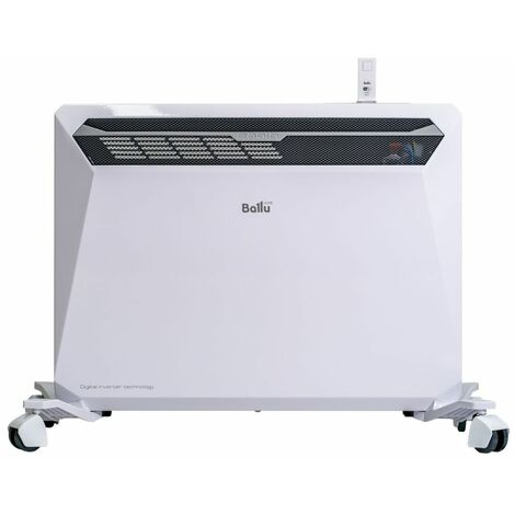 Termoconvector Inversor eléctrico 1500W cm 41,3x12,9x56 Ballu Rapid1500