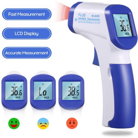 Termometro a infrarossi senza contatto, spedito senza batteria