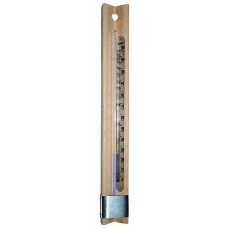 Termometro Base Legno Blinky Scala 0-120°C 40X4 Cm