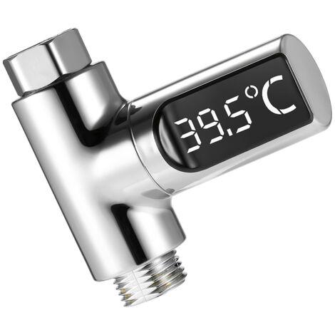 Termometro digital LED, 5 ~ 85 ¡ã C, pantalla giratoria de 360 ¡ã