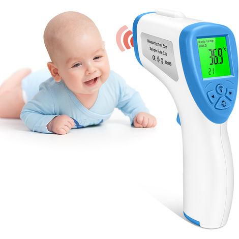 Termometro digital por infrarrojos, para ninos, adultos, trabajo domestico
