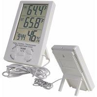 Termometro Igrometro Digitale Sonda Temperatura Umidita' Esterno Interno Ta-298