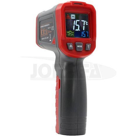 Termometro infrarrojo 50~550 ºC con pantalla LCD