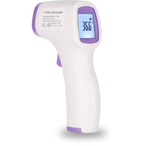 Termometro infrarrojo sin contacto, medidor de temperatura
