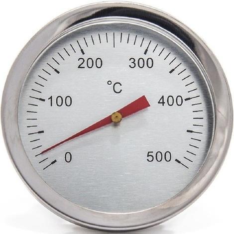 Termometro Inox Da Pannello 500 C Per Forno Fissaggio A Vite G244 • forno a legna in refrattario 77x65 cm, la portina è in acciaio verniciato con pratico termometro e spioncino; termometro inox da pannello 500 c per forno fissaggio a vite