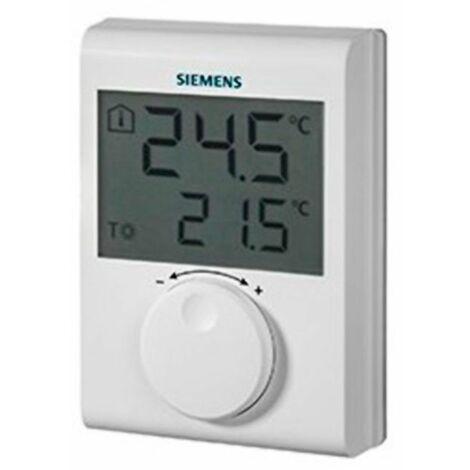 Termostato ambiente digital RDH100 de Siemens