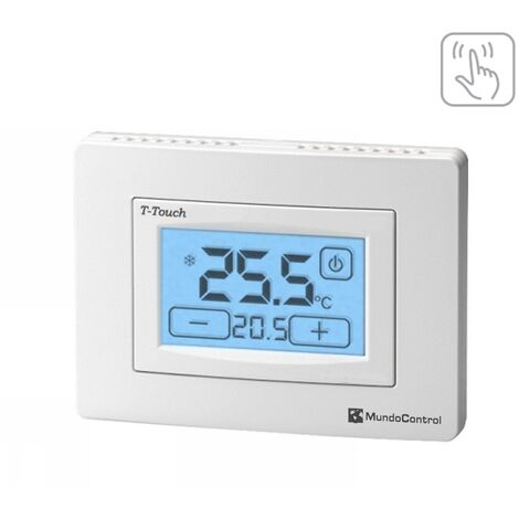 Termostato ambiente pantalla táctil T-Touch