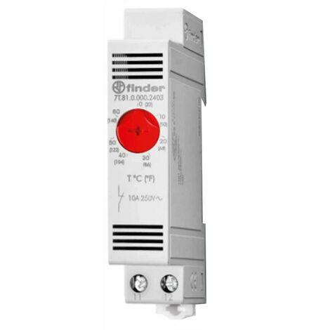 Termostato analógico Buscador para calefacción 10A 250V 7T8100002403