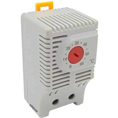 Termostato analógico contacto cerrado - ASJD