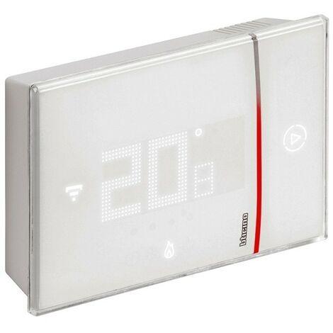 Termostato BTICINO Smarther con Wifi X8000W de superficie