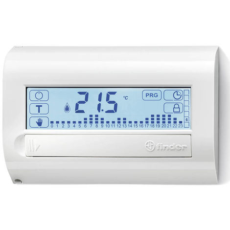 Termostato Buscador de contacto de pared de color blanco 1C8190030107