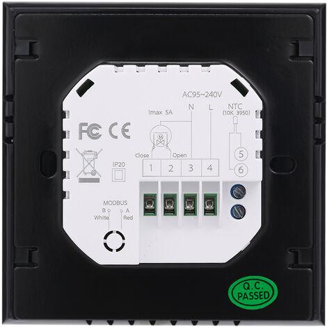 Termostato de calefaccion de caldera de agua / gas BTH-3000L-GC