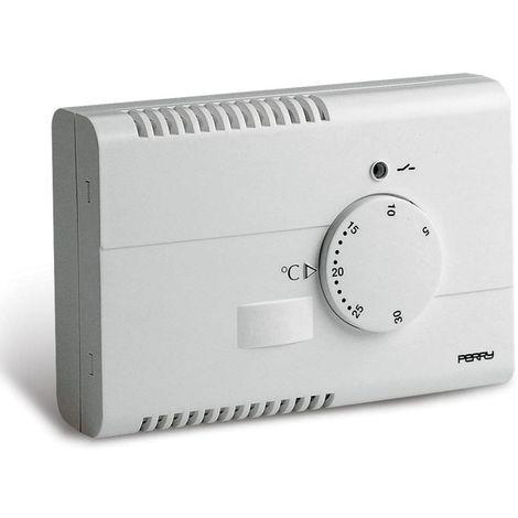 Termostato de pared electrónico blanco cm 7,5x2,9x11,15 Perry 1TPTE120