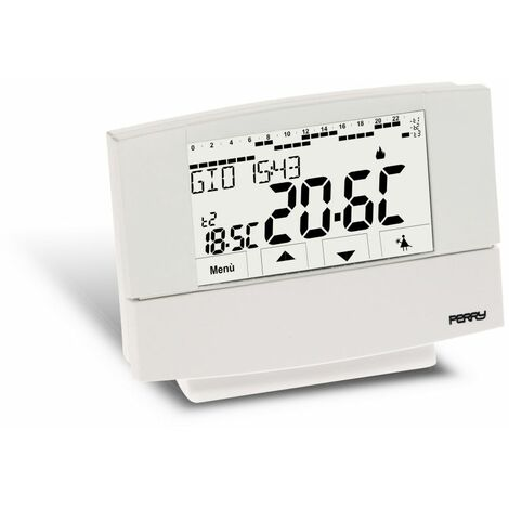 Termostato de pared semanal Perry 1CRCR026B