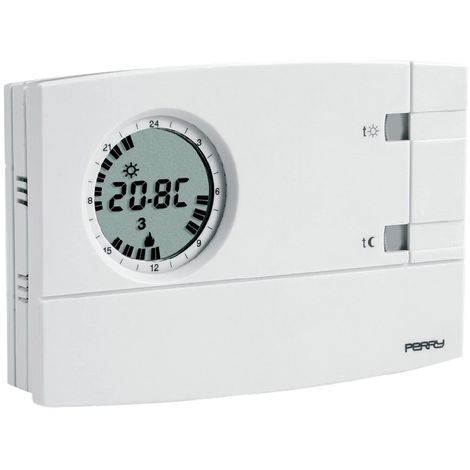 Termostato de pared semanal Perry 1CRCR309/S