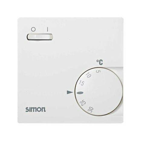 Termostato de Superficie Frío-Calor Marfil Simon 75 75503-61