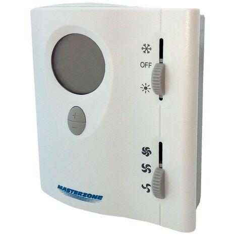 Termostato digital 220V de superficie 2 válvulas