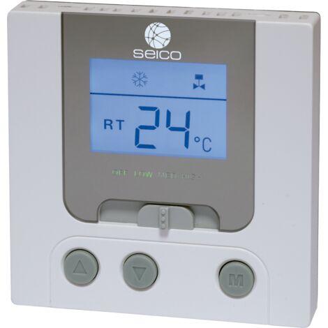 Termostato digital para fancoil Seico TFDS -Disponible en varias versiones