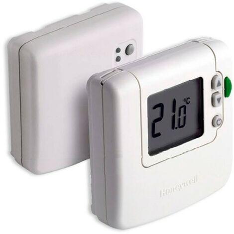 Termostato digital vía radio frío/calor/conmutado Honeywell - Blanco