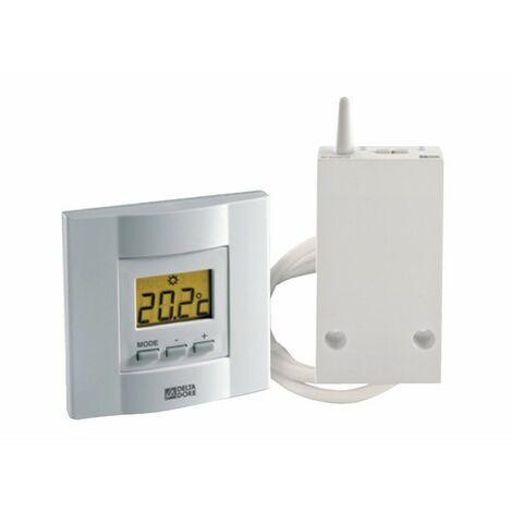 Termostato electrónico teclas radio calefacción - DELTA DORE : 6053035
