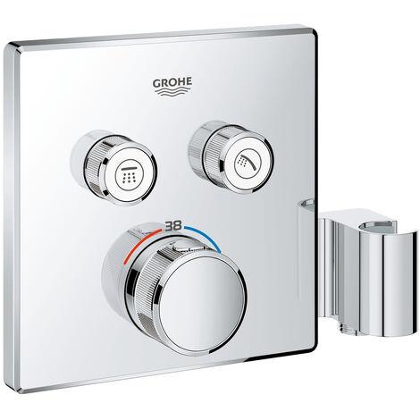 Termostato Grohe Grohtherm SmartControl con dos válvulas de cierre, soporte de ducha integrado - 29125000