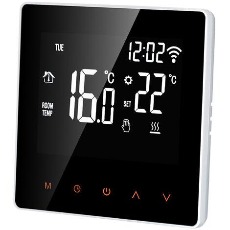 Termostato inteligente con Wi-Fi, controlador de temperatura digital, 16A