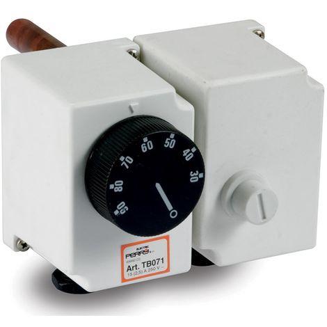 Termostato mecánico con limitador cm 0 Perry 1TCTB071