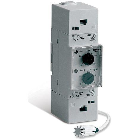 Termostato modular de riel DIN de Perry Perry 1TMTE052/M