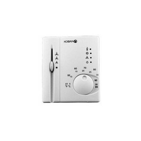 Termostato para calefaccion,aire acondicionado y fan coil Koban KT1-NP 0769001