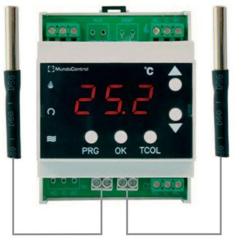 Termostato regulación solar -Disponible en varias versiones