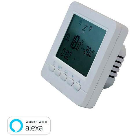 Termostato WiFi para Calefacción o Aire Acondicionado vía Smartphone/APP 7hSevenOn Home