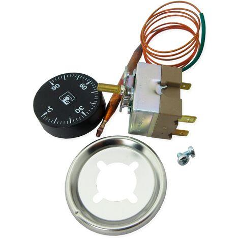 Termostatos y termómetros digitales