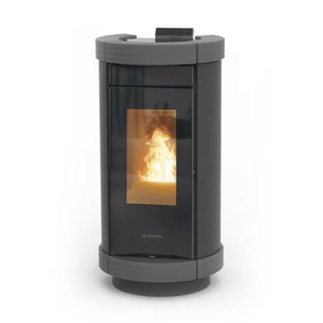 Termostufa a pellet Thermorossi Dorica Idra Metalcolor Easy 13,50 kW