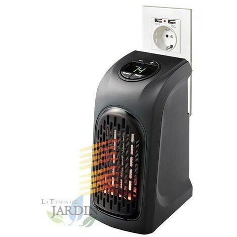 Termoventilador de enchufe con termostato 18ºC a 32ºC