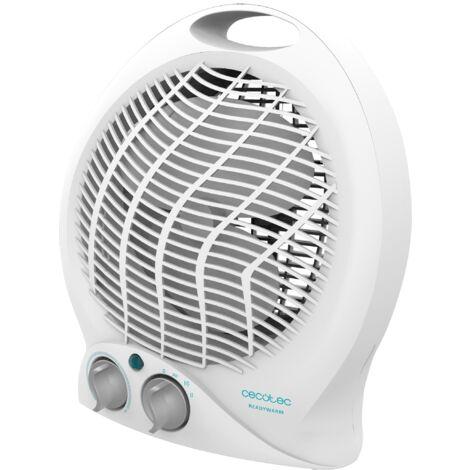 Termoventilador ready warm 9790 force, bajo consumo, silencioso, potencia 2000w con 2 niveles, termostato regulable, 3 modos de
