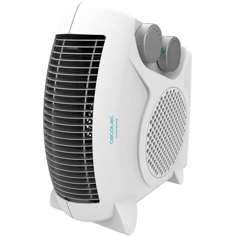 Termoventilador readywarm 9820 force dual, bajo consumo, silencioso, potencia 2000w con 2 niveles, termostato regulable, 3 modos
